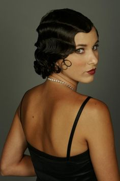 1920's Hair - Great Vintage Style!