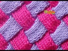 Learn how to knit entrelac! This clip is from Knitting Daily TV episode Play with Color. Eunny Jang gives a quick lesson on entrelac colorwork knitting,. Knitting Daily, Knitting Stiches, Knitting Videos, Crochet Videos, Knitting Needles, Free Knitting, Crochet Stitches, Baby Knitting, Knitting Patterns