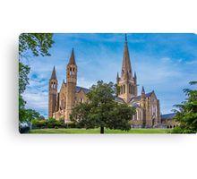 Sacred Heart Cathedral in Springtime - Bendigo, Victoria Canvas Print