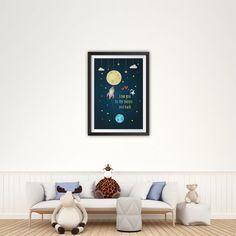 Love You To The Moon And Back Nursery Print, Nursery Art, Instant Download Printable Nursery Art, Nursery Wall Art, Room Art, Baby Print, Baby Prints, Nursery Prints, Nursery Wall Art, Nursery Decor, Room Art, Kids Room, Poster Prints, Gallery Wall, Love You