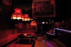 Cabaret Berlin Interiors | Sala de conciertos-club
