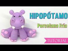 souvenirs de hipopotamos en porcelana fria - Buscar con Google Baby Pigs, Biscuit, Pasta Flexible, Safari, Clay Tutorials, Smurfs, Baby Shower, Diy, Character