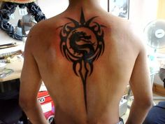 Mortal Kombat tattoos are hugely popular amongst the fans of the franchise which has now been around for over 20 years now! See Scorpion, Sub Zero, Smoke. Finger Tattoos, Hand Tattoos, Symbol Tattoos, Body Art Tattoos, Tribal Tattoos, Eagle Tattoos, Tatoos, Gamer Tattoos, Mommy Tattoos
