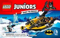 Batman™ vs. Mr. Freeze™ 10737 - LEGO Juniors - Building Instructions - LEGO.com