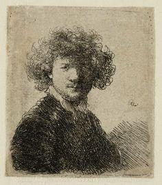 Mijn favoriete Rembrandt in Teylers Museum: Rembrandt, zelfportret (B1)