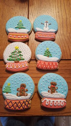 Snow Globe Cookie Contest maybe....??? :)