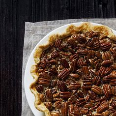 """THE ULTIMATE BOURBON PECAN PIE RECIPE""  It is hard to beat a fresh pecan pie, unless you add a little bourbon"