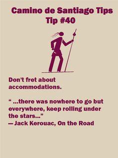 Camino Tips 40a