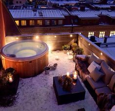 The most ideal rooftop or patio for my dream home