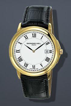 Raymond Weil Tradition Gents Roman Gold Watch