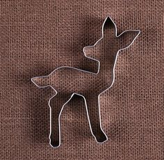 Use our baby deer cookie cutter to make sugar cookies for birthdays or baby showers! To decorate your cookies check out our large selection of sprinkles, frosting tips and food coloring! Be sure to ch
