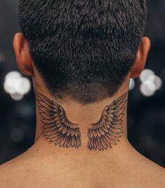Nape Tattoo, Leg Sleeve Tattoo, Best Sleeve Tattoos, Mini Tattoos, Body Tattoos, Small Tattoos, Neck Tattoo For Guys, Tattoos For Guys, Welder Tattoo
