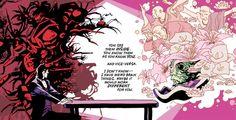 Casanova #1 (2010). Writer: Matt Fraction; Artist: Gabriel Bá; Colors: Cris Peters.