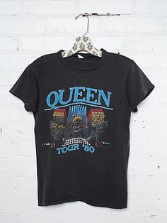 Vintage 1980 Queen Tee- Check out our Vintage T Collection #freepeople #vintageloves #vintage