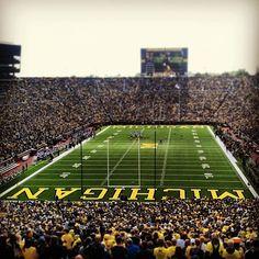 "Michigan Stadium ""The Big House"" - Ann Arbor, MI"