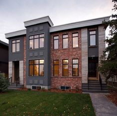 Exterior Paint Colors With Red Brick Trim Design Ideas, Pictures, Remodel, and Decor - page 2