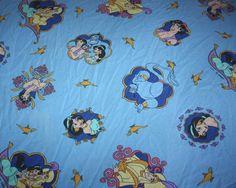 Vintage French released Aladdin bedding #disney #ebay! Make offer!