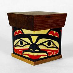 Lattimer Gallery - Joe Campbell - Bentwood Box - Bear
