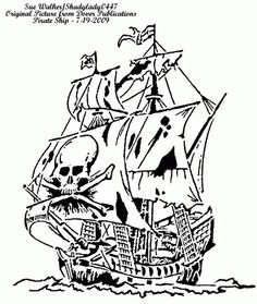 Pirate Ship - Misc. - User Gallery - Scroll Saw Village