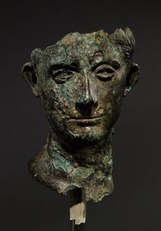 Early 1st Century AD Bronze head of Emperor Augustus | Musee d'Art Classique de Mougins
