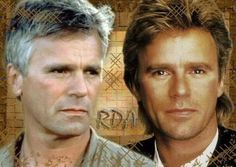 Richard Dean Anderson - Col. Jack O'Neill and MacGyver.