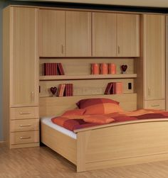 Bedroom overbed units