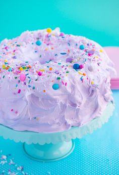 Unicorn Angel Cake by Sweetapolita