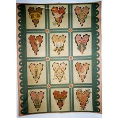 Sampler Americana Quilt Applique Block of the Month Pattern Complete Set Robyn Pandolph ...