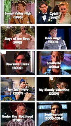 Jensen's roles GIFset