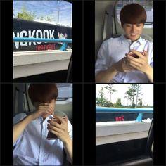 J-Hope and Jungkook ❤ [Bangtan Trans Video Tweet] 아니 이게모야!!!!!!!! 지나가는 길에…