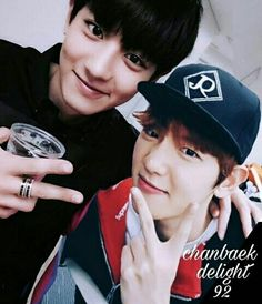 #chanbaek #baekyeol #chanyeol #baekhyun #exo