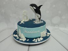 Whale themed Birthday cake
