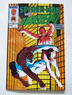 1984 Spider-Man And Daredevil Special Edition Volume One Number One Marvel Comic Book by parkledge on Etsy