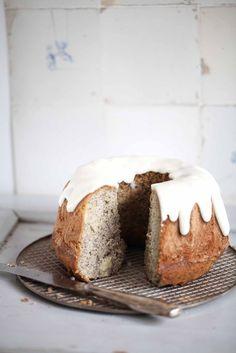 Apfel Mohn Gugelhupf Rezept - Mohnkuchen Apfelkuchen Apple Poppyseed Bundt cake Zuckerzimtundliebe