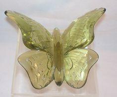 5170CG, Fenton Colonial Green Butterfly – Fenton's Collectibles