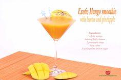Four Exotic Mango Smoothie Recipes