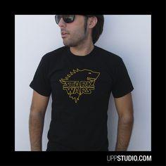 Camiseta #StarkWars #StarWars #JuegoDeTronos #GameOfThrones #TShirt #Tee #Diseño #Design con envío a GRATIS a España sólo en www.UppStudio.com