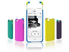 ice or Integrated Case Earphone by Yuljae Lee