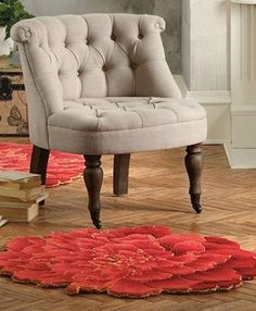With vibrant color and detailed design, the Peony Indoor Rug adds excitement and beauty to any room in your home.