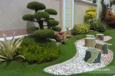 ¿Te gusta el minimalismo? juega con tu jardín y dale el estilo minimalista que tanto te gusta. www.finisnova.com