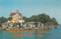 Put in Bay South Bass Island Lighthouse Tours in summer, and you can book for small meetings