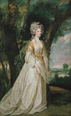 1786 Joshua Reynolds - Portrait of Phillippa Elizabeth Dorothy Malone (née Rooper), Lady Sunderlin