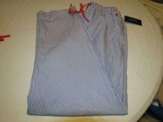 Polo Ralph Lauren sleep pants L Men's lounge striped blue PJ bottoms underwear #RalphLaurenPolo #LoungePants