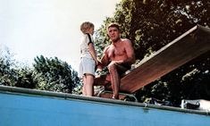 The Swimmer by John Cheever – into a suburban darkness This classic tale has echoes of many other great stories, but stands on its own as a portrait of a disintegrating man John Cheever, Old Hollywood Actors, The Last Movie, Moving Pictures, Great Stories, The Guardian, Cinematography, Movie Tv, Fiction