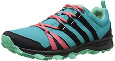 adidas Outdoor Womens Trail Rocker Hiking Shoe Shock GreenBlackSuper Blush 9 M US ** Learn more by visiting the image link.
