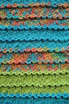 Ridges Knitting Stitch Pattern