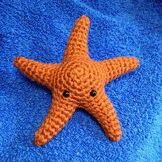 Starfish Amigurumi pattern by Sabrina Boscolo