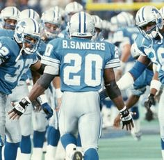 Once in a lifetime ...thank you Barry Sanders