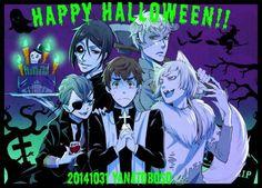 Halloween 2014 art by Yana Toboso Black Butler / Kuroshitsuji
