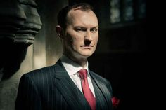"""It was written by Mark Gatiss, who also plays Sherlock's brother Mycroft. 